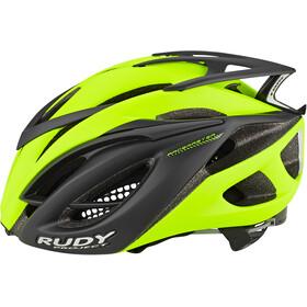 Rudy Project Racemaster Cykelhjelm, yellow fluo/black (matte)